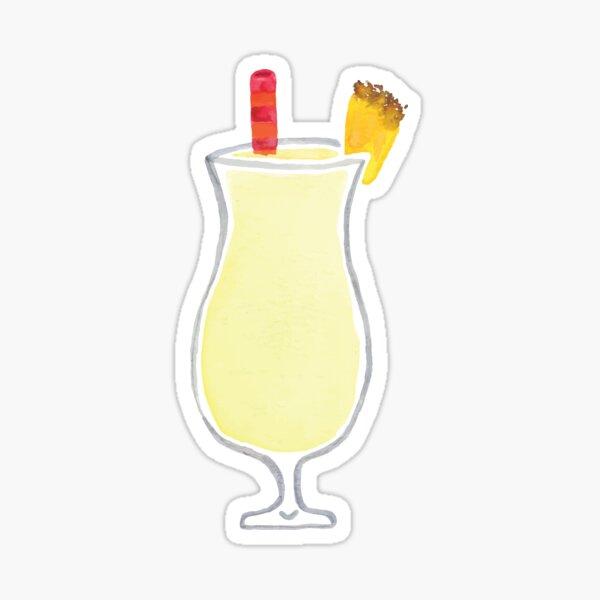 Pina Colada Drink Sticker