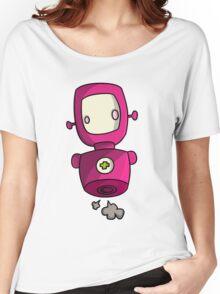 ROBOT PINK Women's Relaxed Fit T-Shirt