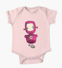 ROBOT PINK One Piece - Short Sleeve