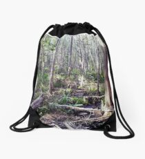Swamp Drawstring Bag