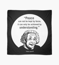 Peace and Understanding quote Scarf