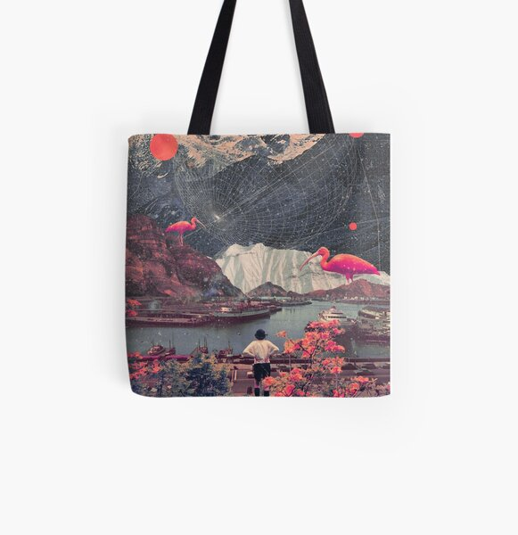 My Choices left me Alone All Over Print Tote Bag