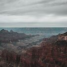 Grand Canyon Northern Rim Overlook by TheWaywardVixen
