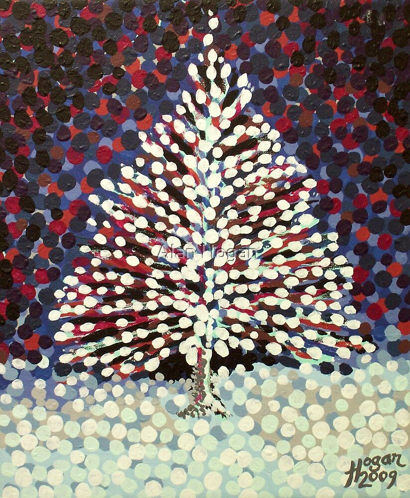 The Snow Tree by Alan Hogan
