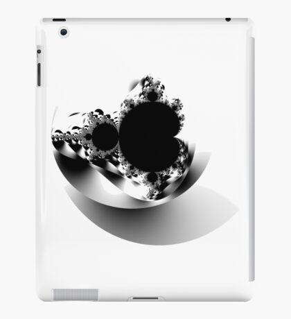 Untitled XVII - Black iPad Case/Skin