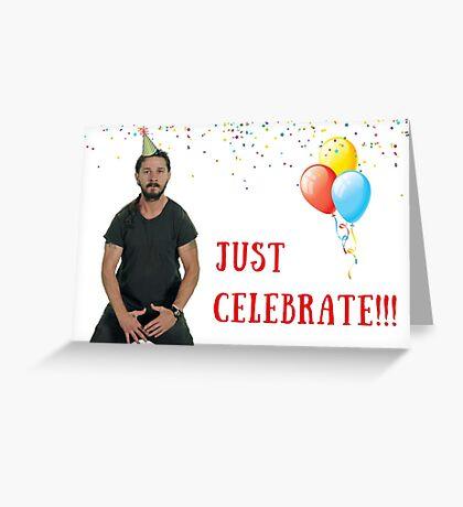 Celebre la tarjeta de cumpleaños, tarjetas de felicitación meme Tarjeta de felicitación