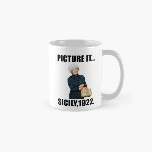 picture it ... sicily 1922 Classic Mug