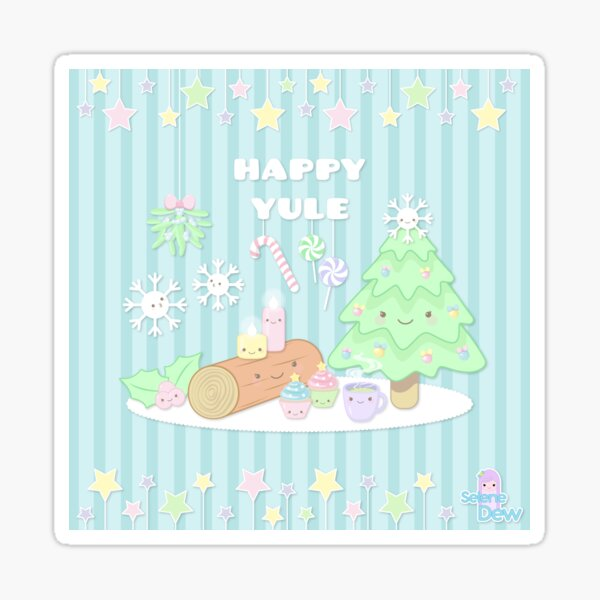 HAPPY YULE Sticker
