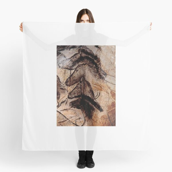 Stone-age Cave Paintings, Chauvet, France Scarf