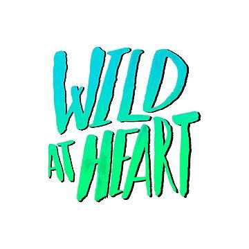 Wild at Heart x Blue + Green by adventurlings