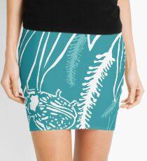 Calligrapha Beetles and Black Willow Mini Skirt