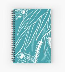 Calligrapha Beetles and Black Willow Spiral Notebook