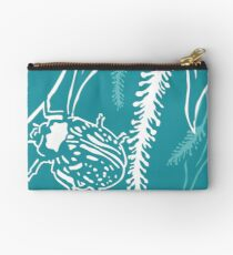 Calligrapha Beetles and Black Willow Studio Pouch