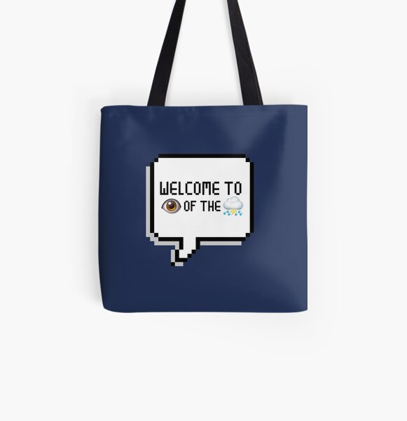 Eye of the Storm All Over Print Tote Bag