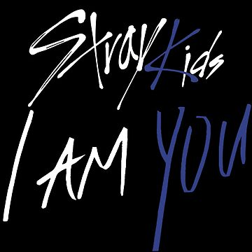 KPOP STRAY KIDS I AM YOU OFFICIAL LOGO  by LySaVN