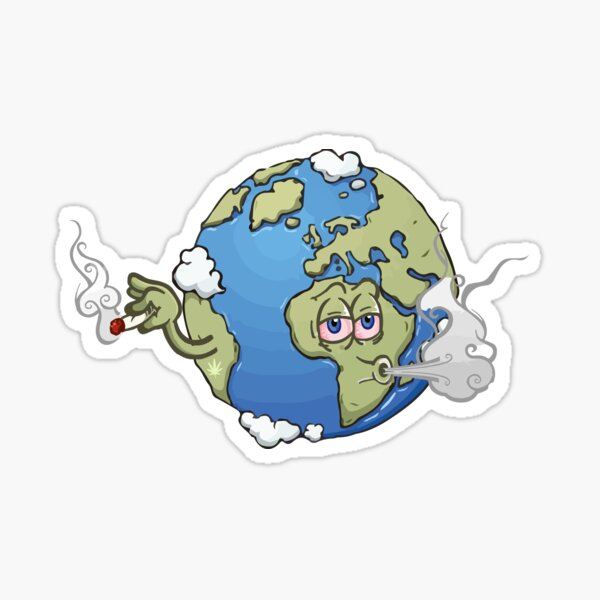 Smoke Weed Everyday Stickers Redbubble