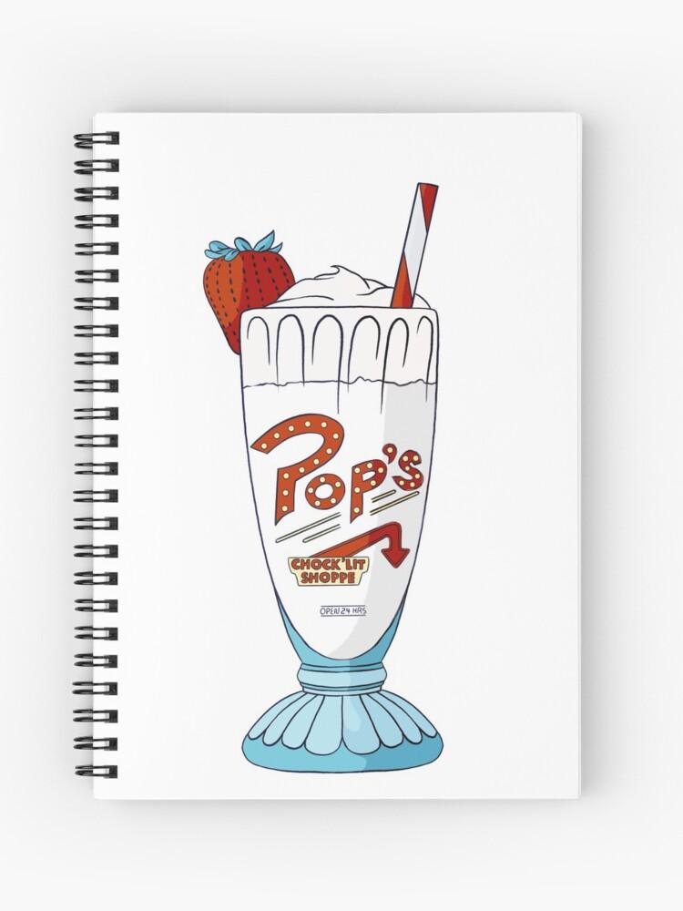 Pop S Milkshake Riverdale Vanilla Spiral Notebook By Klutterschmidt Redbubble,Cooking Chestnuts On Open Fire