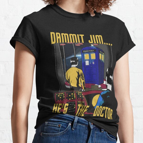 He's The Doctor Who T-shirt For Mens Womens Youth Classic T-Shirt