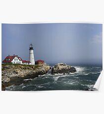 Portland Head Light - Portland Maine Poster