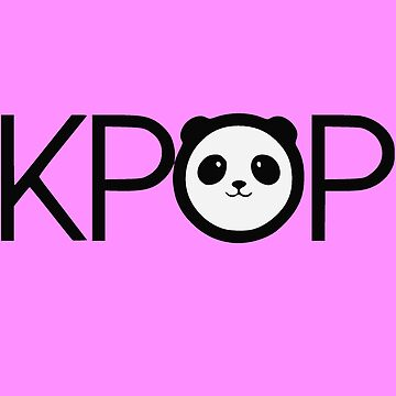 K-pop Panda by realmatdesign