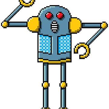 Pixel Robot 138 by Vampireslug