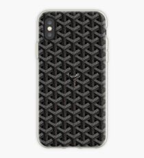 Black goyard iPhone Case
