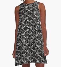 Black goyard A-Line Dress