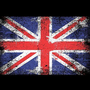 Union Jack Distressed by machmigo