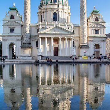 Karlskirche by Bernai