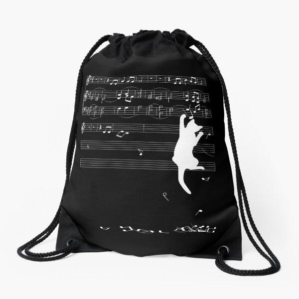 Mischief (white) Drawstring Bag