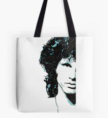 Jim Morrison Original Artwork by Adam Darr Tote Bag