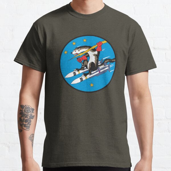 USAF Wild Weasel - Clean Style Classic T-Shirt