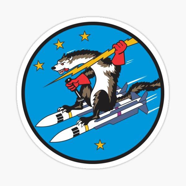 USAF Wild Weasel - Estilo limpio Pegatina