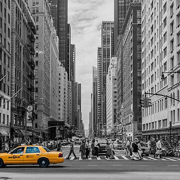 City taxi yellow by dechap