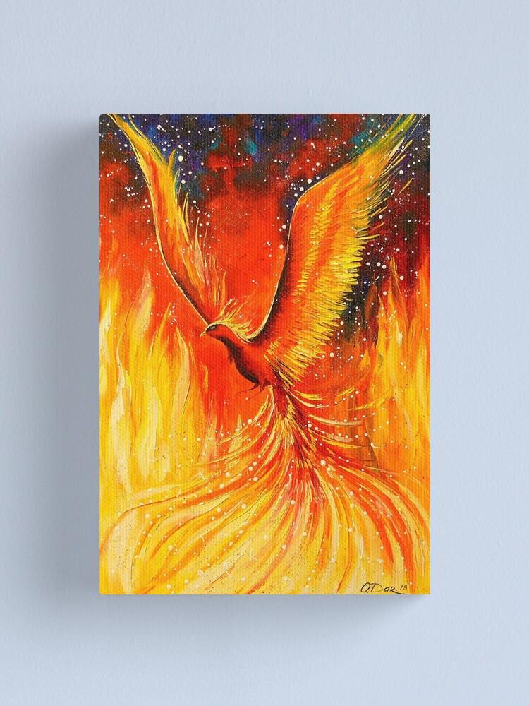 Alternate view of Phoenix Canvas Print