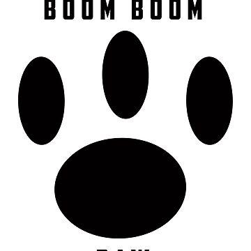 boom boom paw by Dakin98