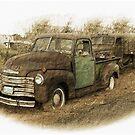 Two Old Trucks by CarolM
