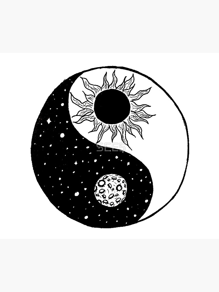 Sun and Moon Yin and Yang  by SEE5