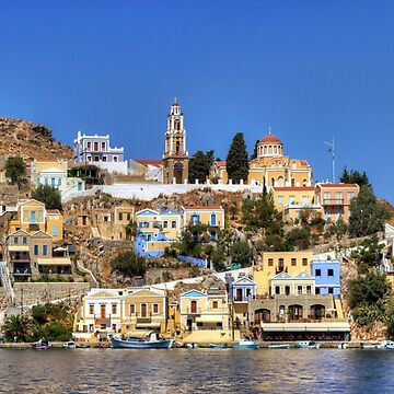 Evangelismos Church, Symi by tomg