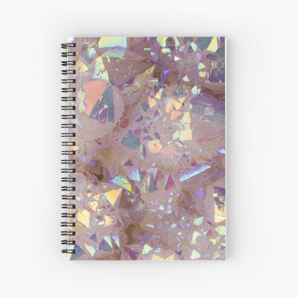 Angel Aura Quartz Spiral Notebook