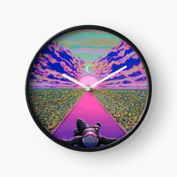 Sunset Trip Clock