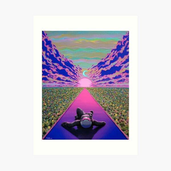 Sunset Trip Art Print