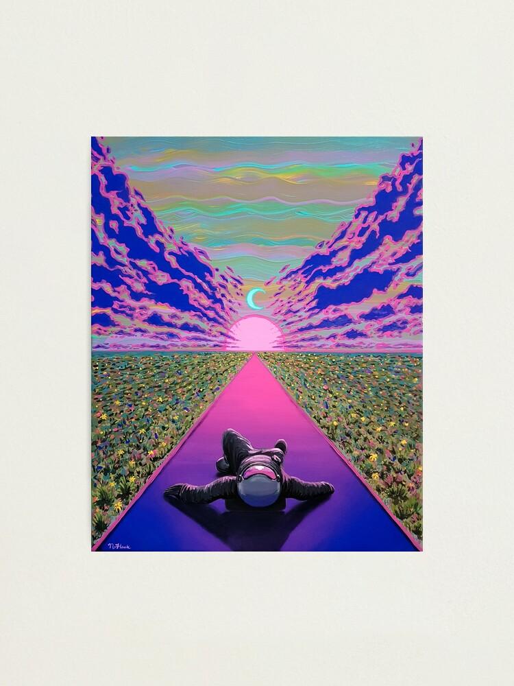 Alternate view of Sunset Trip Photographic Print