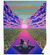 Sonnenuntergang Reise Poster