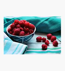 Ruby Delicious Photographic Print