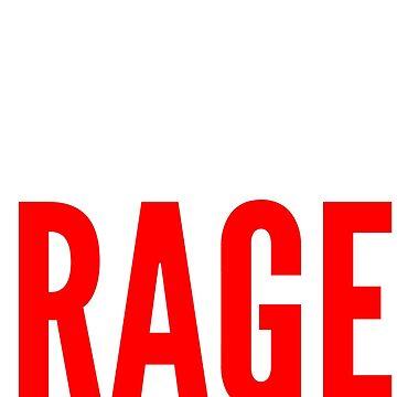 No Roids Just Rage! by Fitanddutch