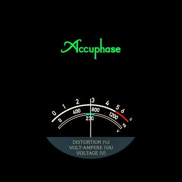 Accuphase PS-1230 - meter by Xcess