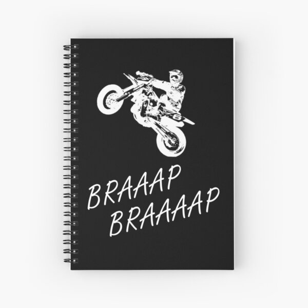 Braaap Braap Supermotolifestyle Cuaderno de espiral