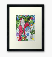 Bubble Holidays Framed Print