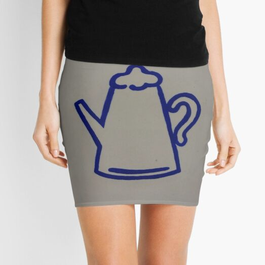 #blue #znamensk #symbol #sign paper logo text graffito decoration Mini Skirt